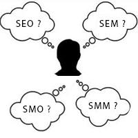 Mengenal Istilah SEO, SEM, SMO dan SMM