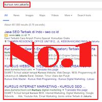 Cara Mudah Agar Website Berada di Halaman Pertama Google