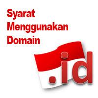 Syarat untuk Membuat Domain .id