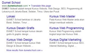 Pengertian, Manfaat Dan Cara Menggunakan Google Sitelink